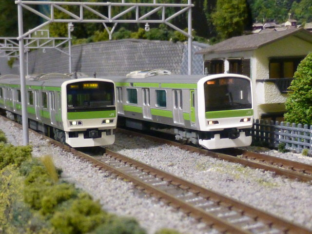 E231-500 series (Yamanote Line) - Kato and MicroAce sets